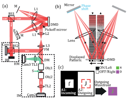 Experimental setup. Extracted from Fig.1 on the paper
